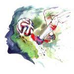 Jalkapalloa, taidetta ja terapiaa